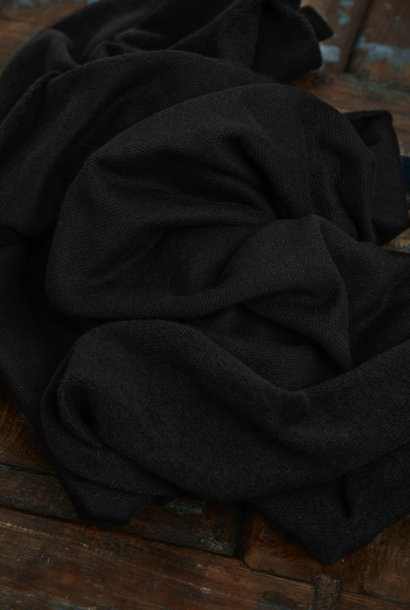 Organic Woolen Fleece Sweat - Black