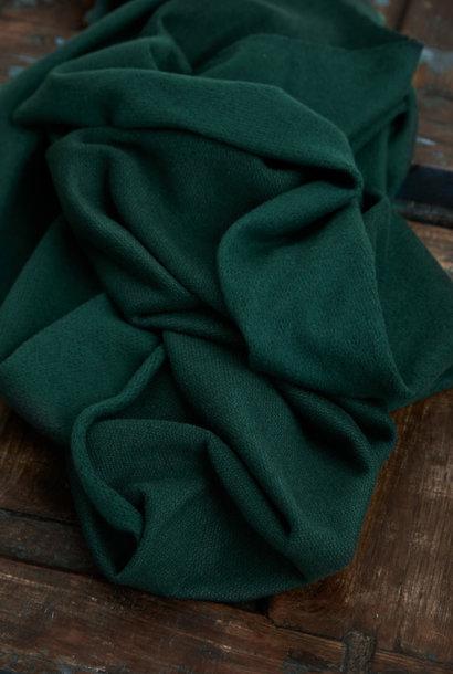 Organic Woolen Fleece Sweat - Bottle Green