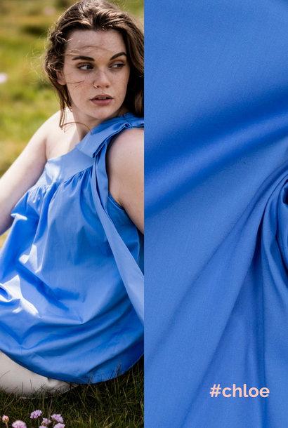 Popeline (stretch) - Chloe - Midnight Blue