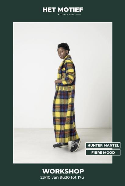 Workshop - Hunter mantel op 23/10