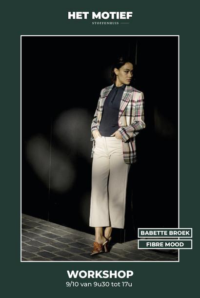Workshop - Babette broek op 9/10