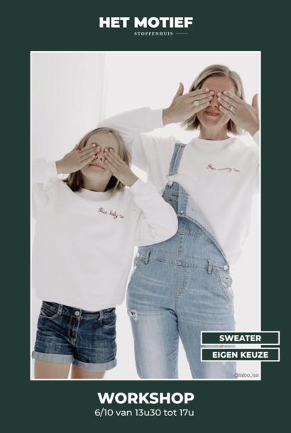 Workshop - Sweater op 6/10