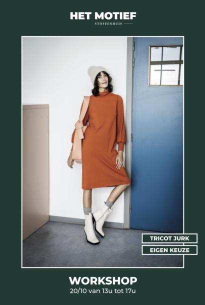 Workshop - Tricot jurk op 20/10