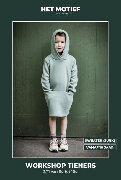 Workshop - Sweater(jurk) op 2/11 (VOLZET)