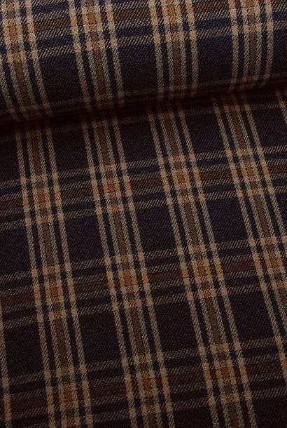 Mantelstof - Wool Check