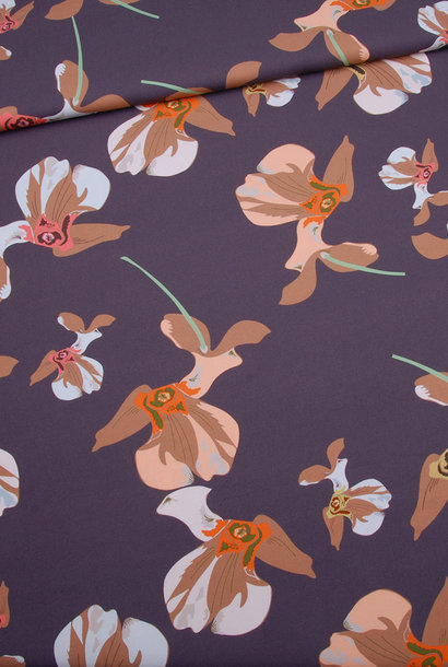 Viscose - Wilde Orchidee