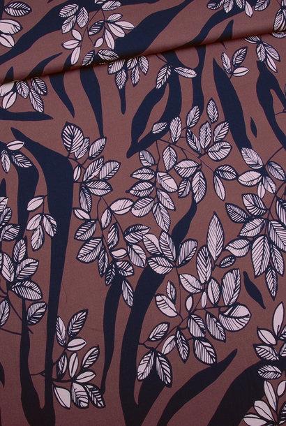 Viscose - Tiger Leaf