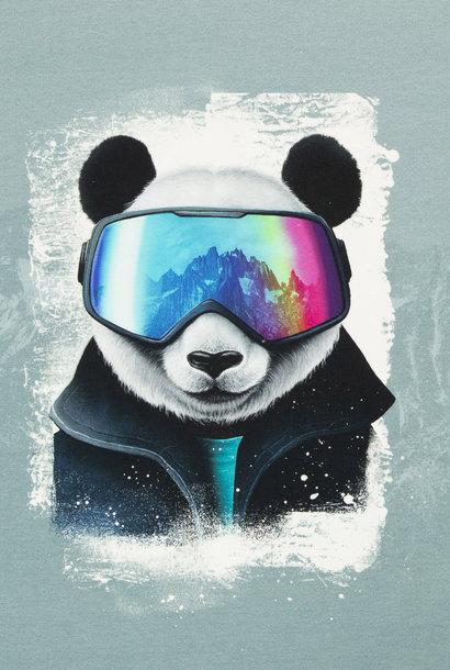 French Terry - Snow Panda (paneel)