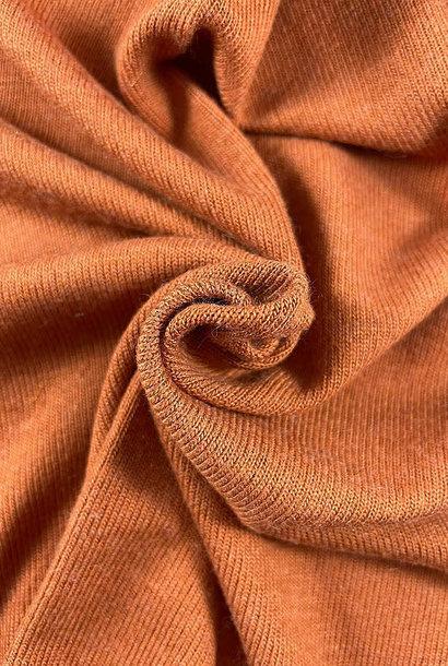 Knit - Zacht roestkleur