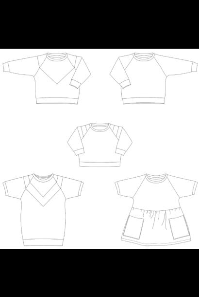 Isa - Sweater/Jurk kids