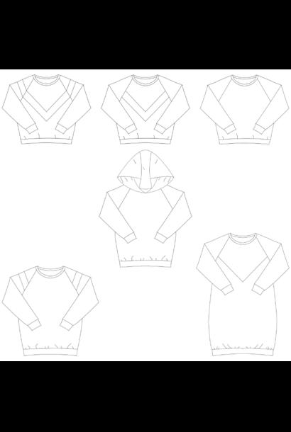 Isa - Sweater/Jurk/Top