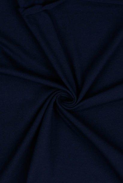 Tricot GOTS - Marineblauw