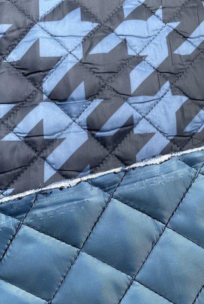 Stepped - Blauw/Zwart