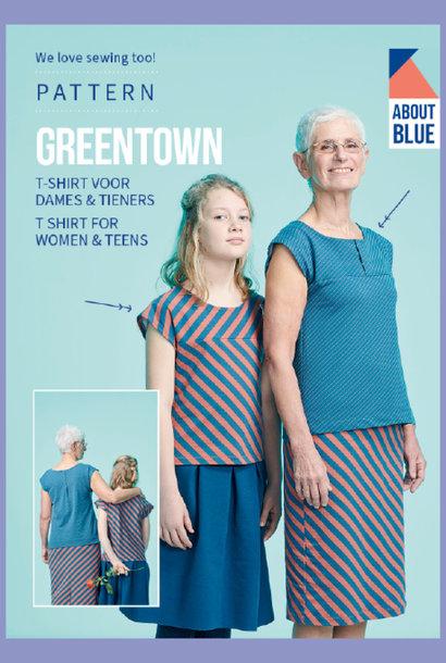 Greentown - T-shirt voor dames & tieners
