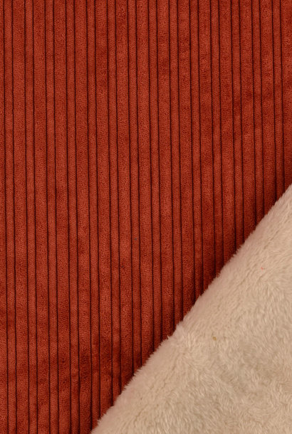 Soft Corduroy - Terracotta