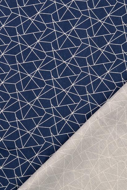 Katoen - Geometric Blue