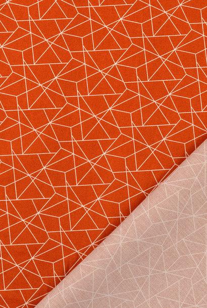 Katoen - Geometric Terracotta