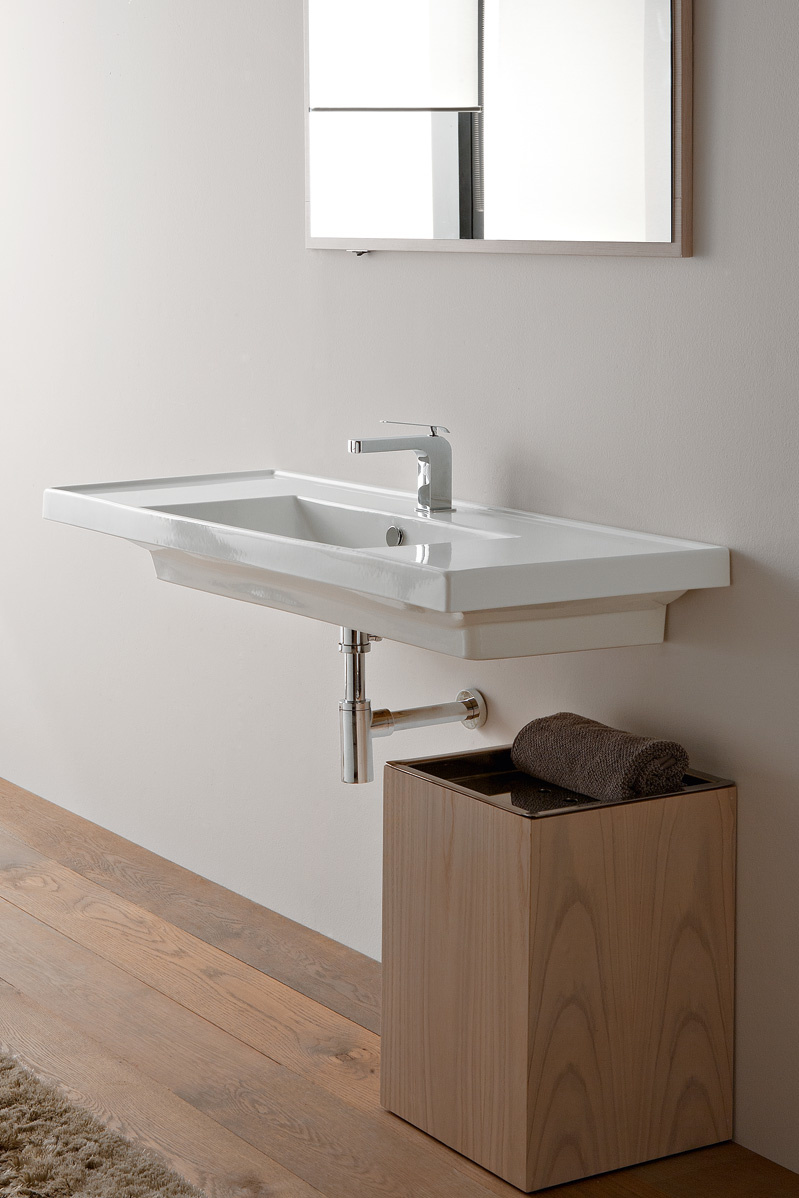 ML Lavabo 121x46,5 double shelf