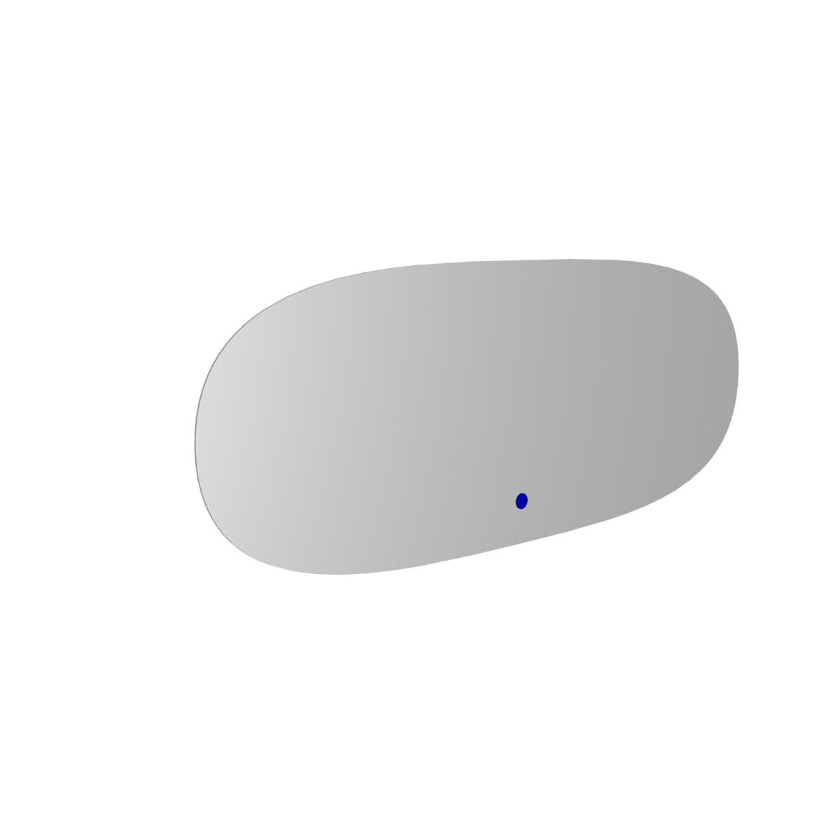 MIRROR Ovaler Spiegel 120x45