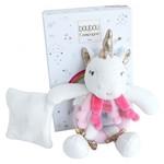 Doudou et compagnie  Doudou rammelaar unicorn