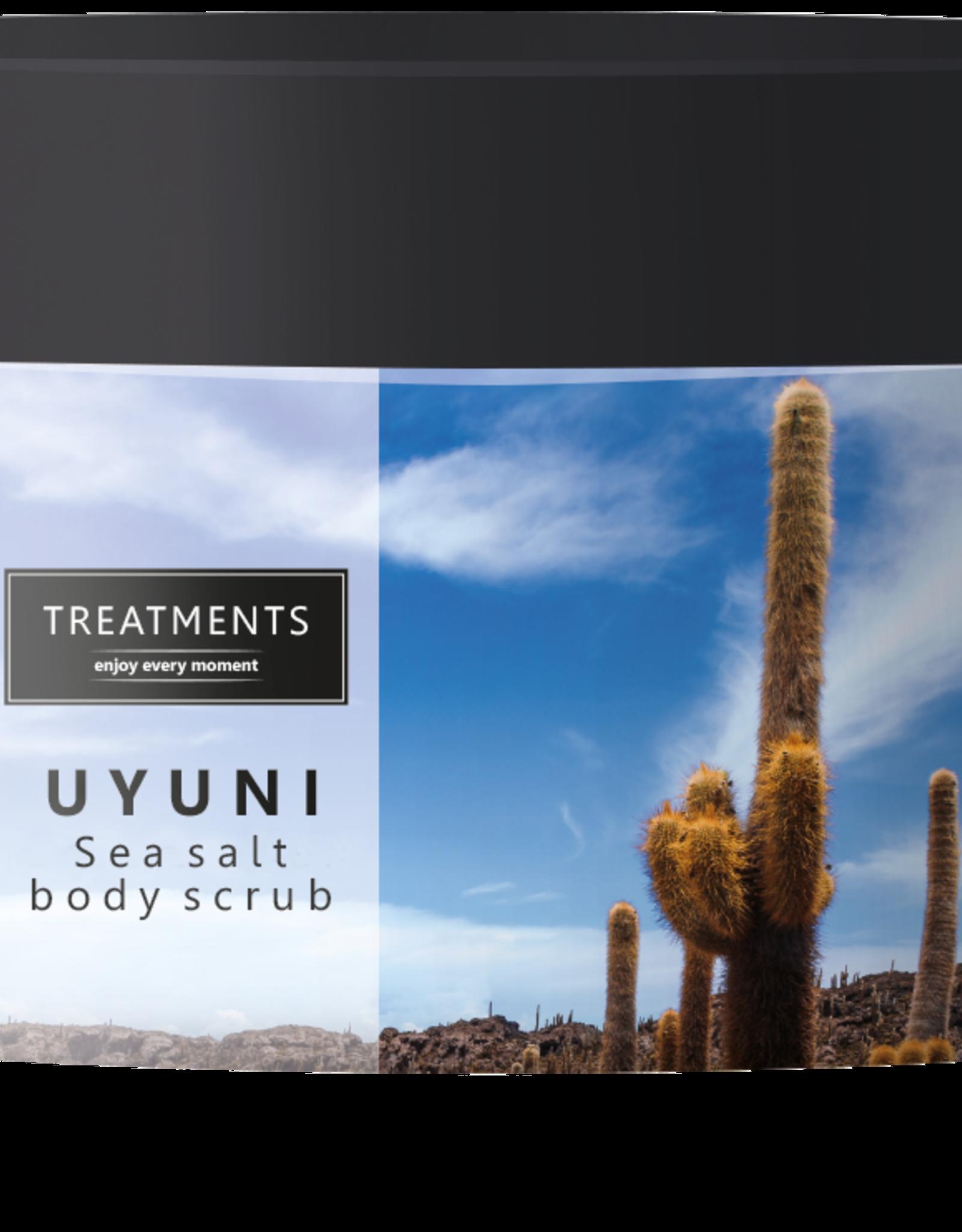 Treatments® Sea salt body scrub Uyuni 450 gram