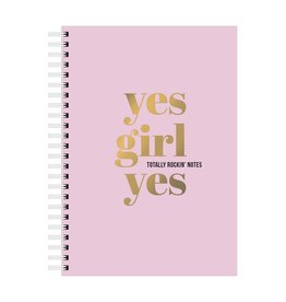 Studio Stationery A5 Notebook Yes Girl Yes