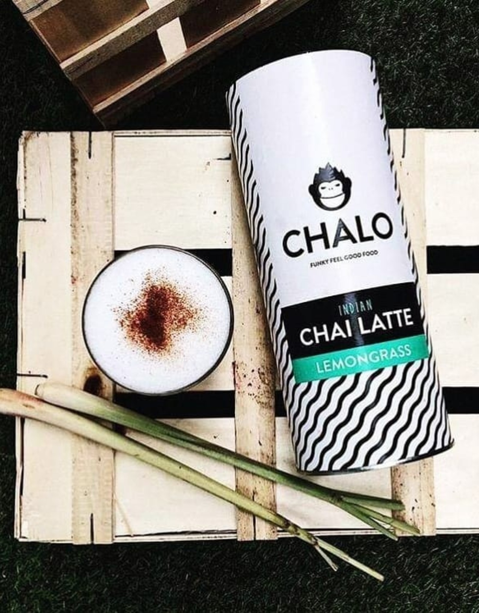 Chalo Company Lemongrass Indian Chai Latte