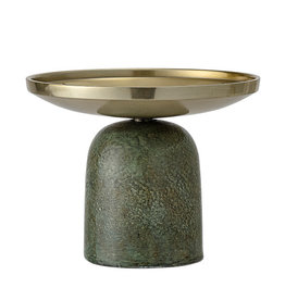 Bloomingville Candle Holder, Green, Aluminum