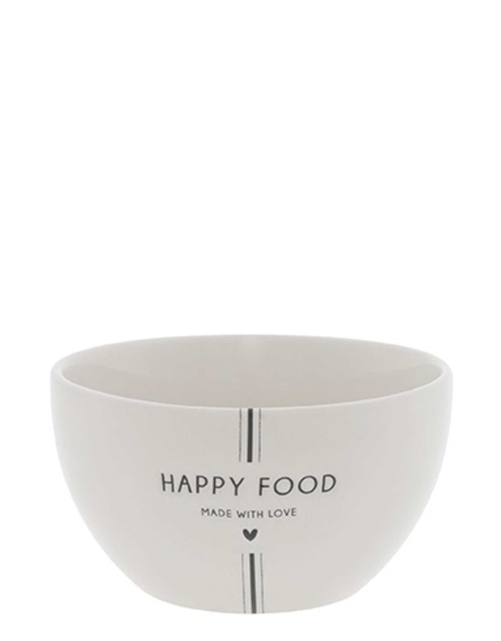 Bastion Collections Bowl White   Happy Food   Bastion Collections