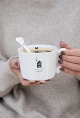 Bastion Collections Cup White   Let's stay Home   Bastion Collections