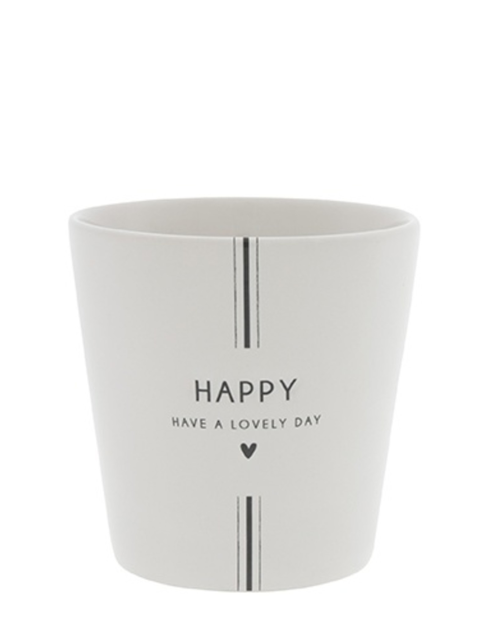 Bastion Collections Cup White   Have a Lovely Day   Bastion Collections