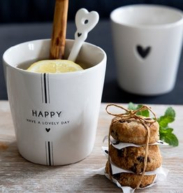 Bastion Collections Cup White | Have a Lovely Day | Bastion Collections