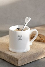Bastion Collections Mug White | Ciao Bella | Bastion Collections