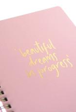 Studio Stationery My Pink Planner Beautiful dreams in progress