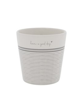 Bastion Collections Cup White | Have a Good Day | Bastion Collections