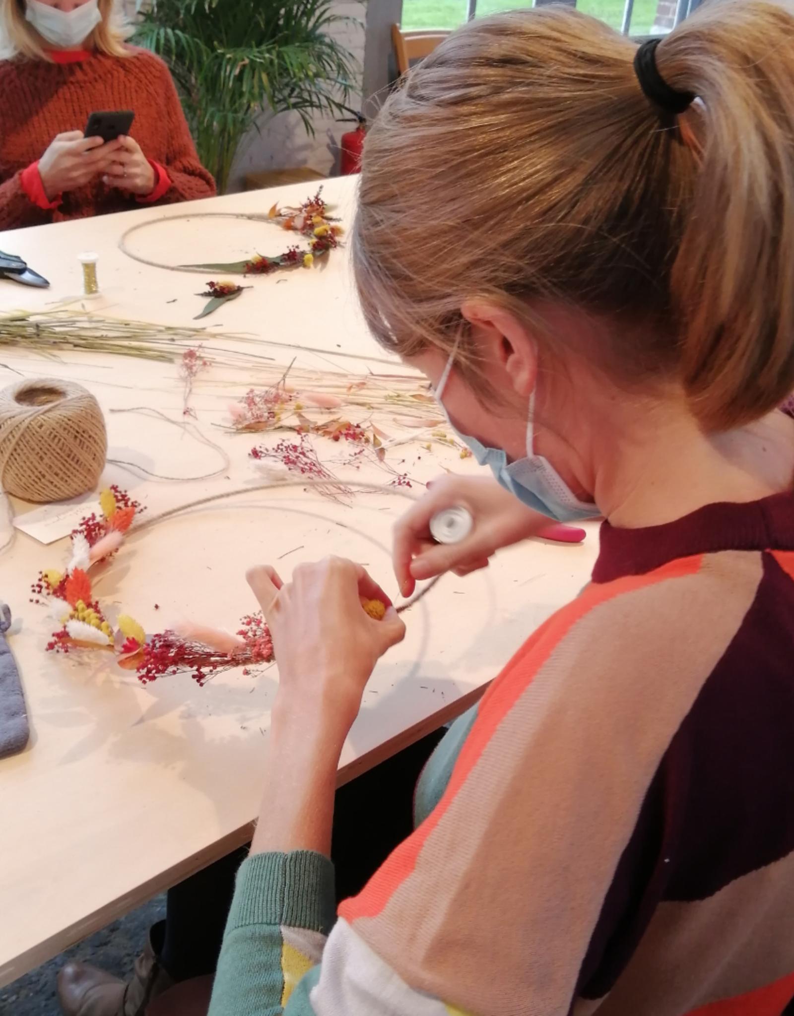 Atelier LiLou Workshop Flowerhoop