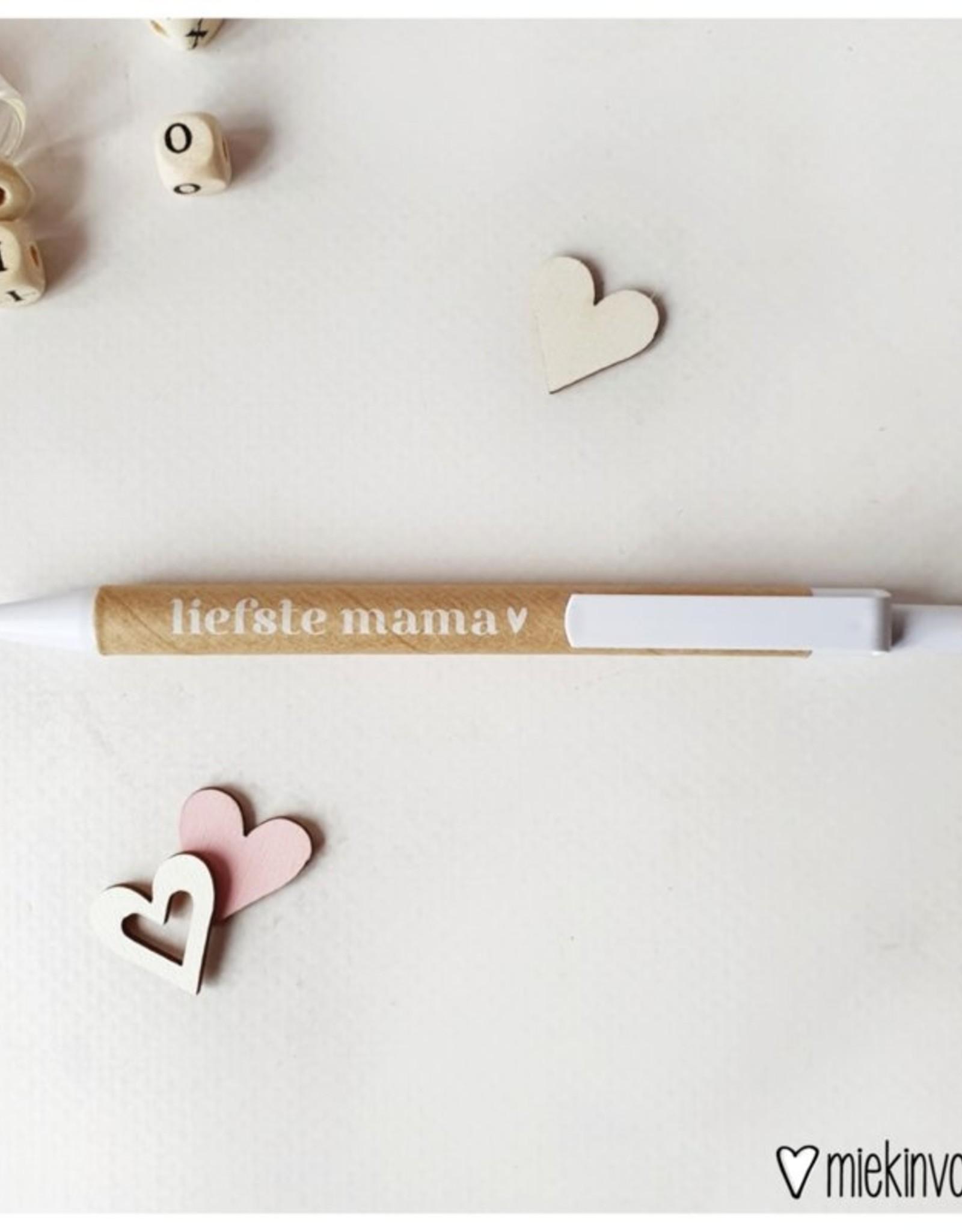 Miekinvorm Pen    liefste mama