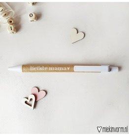 Miekinvorm Pen || liefste mama