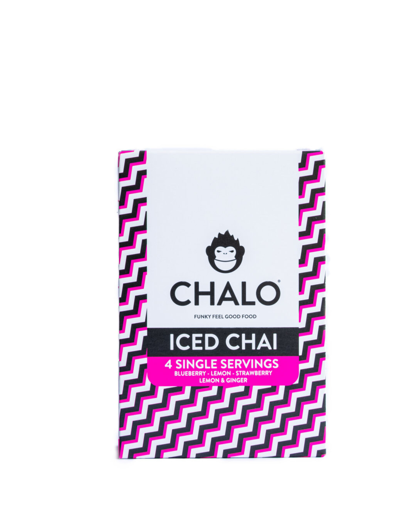 Chalo Company Iced Chai Discovery Box – 4 flavours, 4 servings