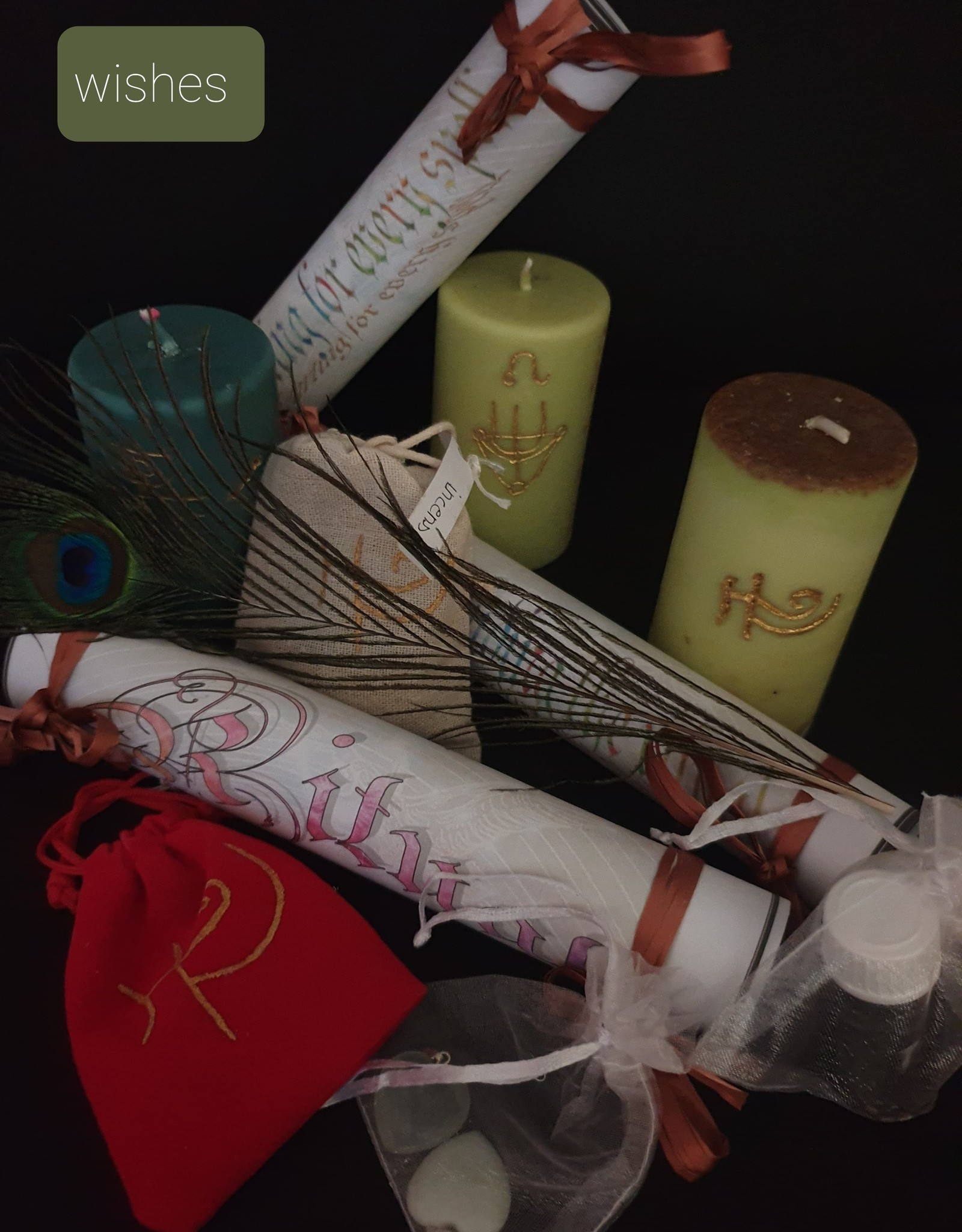 seazido - wevyra Ritual for requesting your wishes, to be carried out at home.