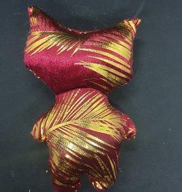 seazido - wevyra geluk en bescherming poppetje middel groot (goud-rood)