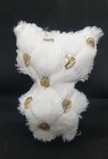 seazido - wevyra luck and protection doll big  (gold circles-white)