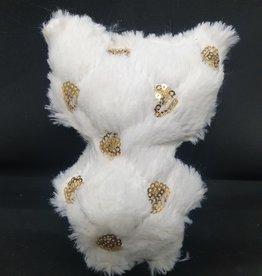 seazido - wevyra geluk en bescherming poppetje groot (gouden cirkeltjes - wit)
