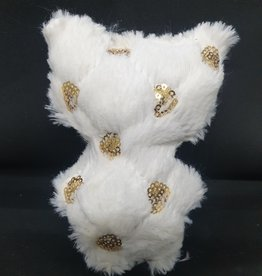 seazido - wevyra luck and protection doll big  (gold circles-white)