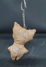 seazido - wevyra geluk en bescherming poppetje  sleutelhanger (goud)