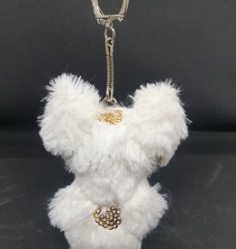 seazido - wevyra luck and protection doll keychain  (gold cirkels)