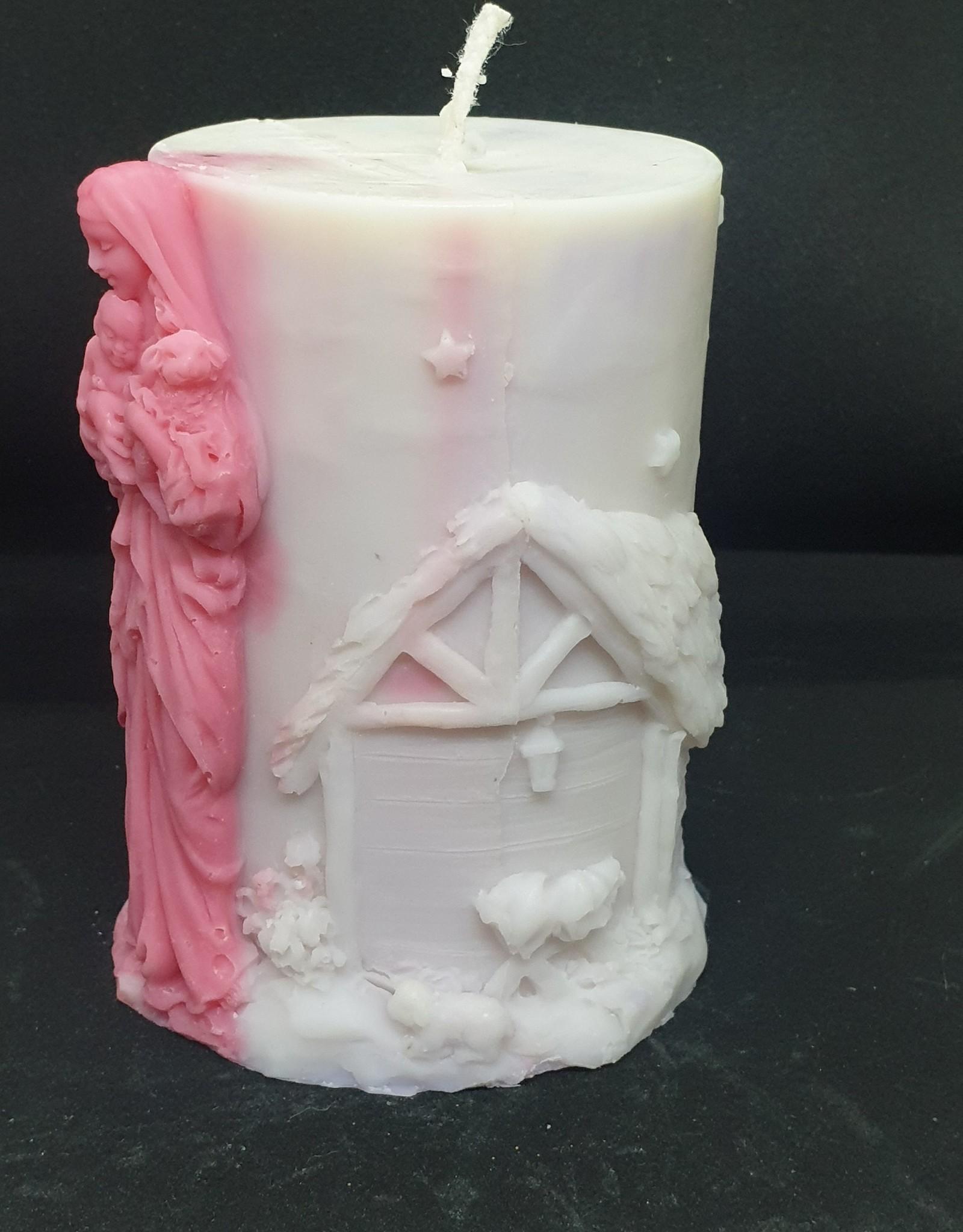 seazido - wevyra Maria  candle ( with wick )