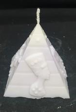seazido - wevyra Pyramid  candle ( with wick )