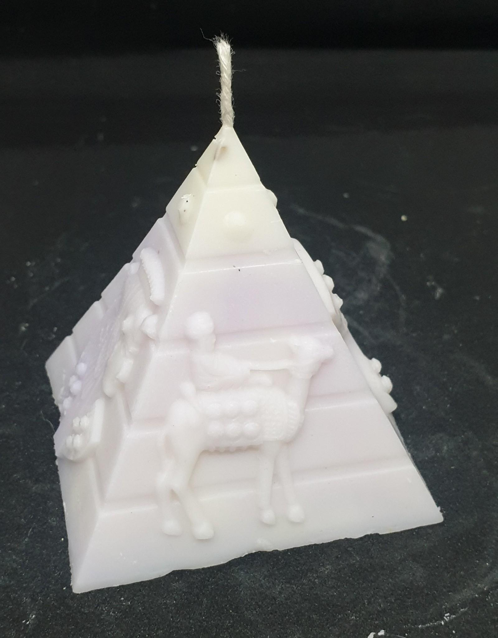 seazido - wevyra Pyramide kaars  (met wiek)