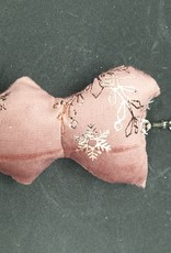 seazido - wevyra geluk en bescherming poppetje  sleutelhanger (gouden sneeuwvlokjes)